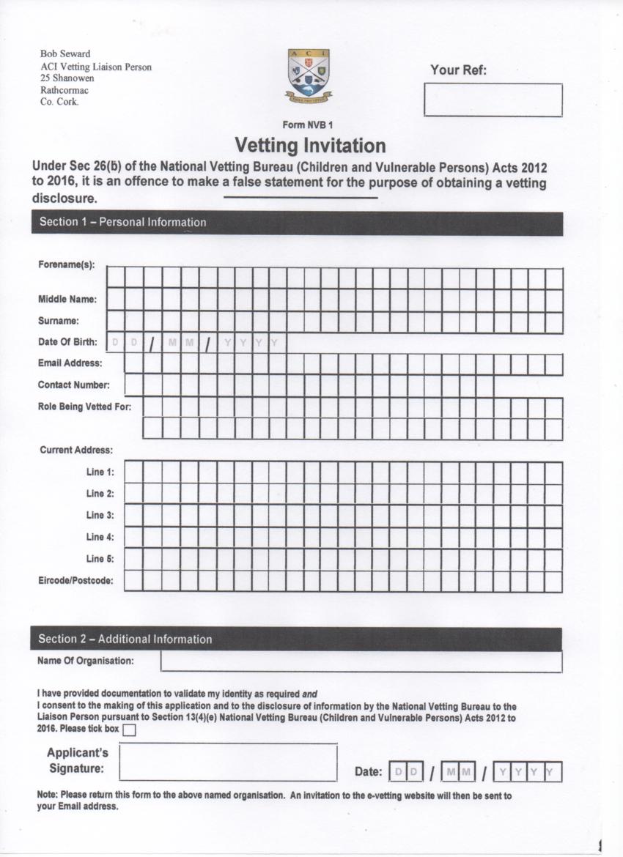 ACI-Vetting-Invitation-Form-NVB-1 Vetting Application Invitations Forms on